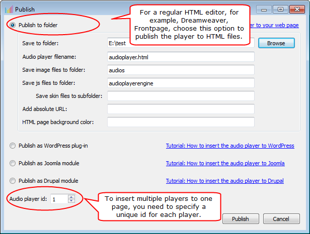 How To Add An HTML5 Audio Player To Your Webpage