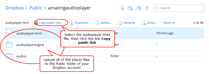 Audio Player for Wix