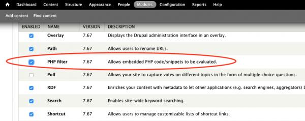 enable-drupal-php-filter